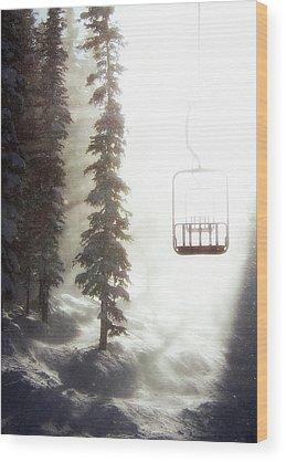 Winter Snow Wood Prints