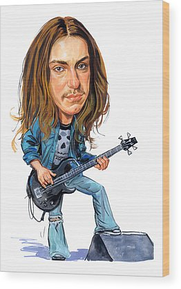 Cliff Burton Wood Prints