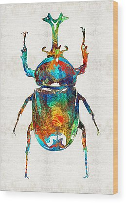 Beetle Wood Prints