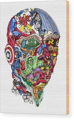 Superman Wood Prints