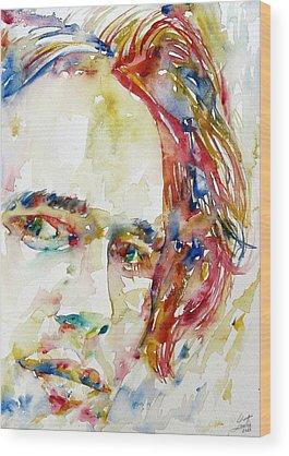 Jeff Buckley Wood Prints