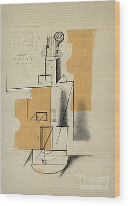 Cubism Wood Prints