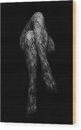 Lace Wood Prints