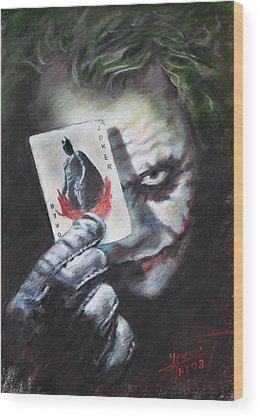 Joker Wood Prints