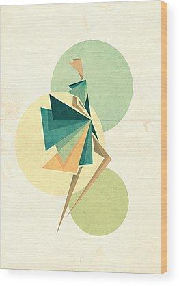 Fashion Wood Prints