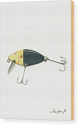 Fishing Wood Prints