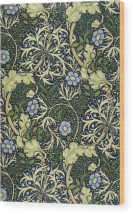 William Morris Wood Prints