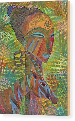 African Wood Prints