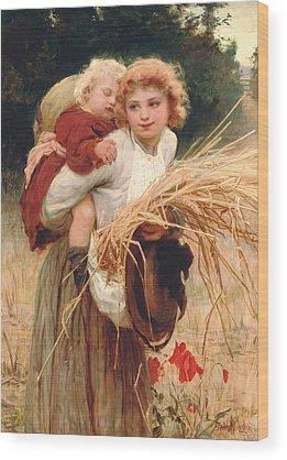 Mother Figure Wood Prints