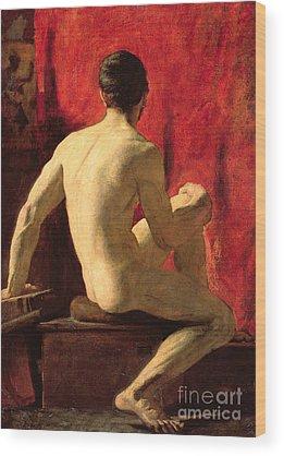 Homoerotic Wood Prints