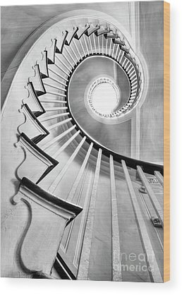 Spiral Staircase Wood Prints