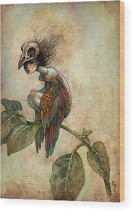 Bird Wood Prints