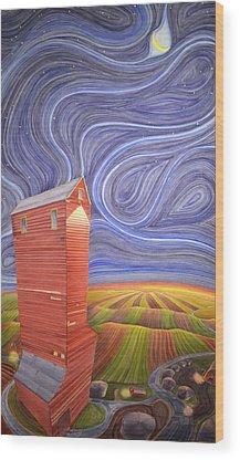 Grain Elevator Wood Prints