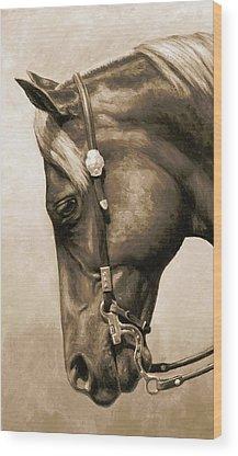 Pleasure Horse Wood Prints