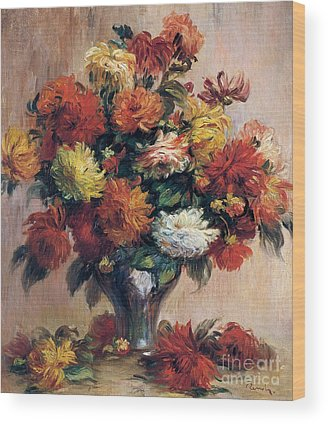 Flowerpots Wood Prints