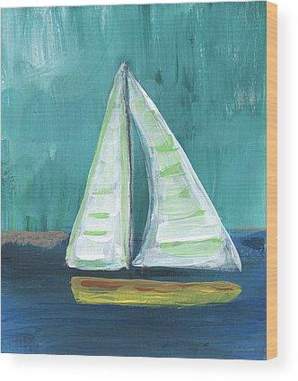 Nautical Wood Prints