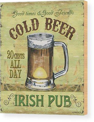 Beer Wood Prints