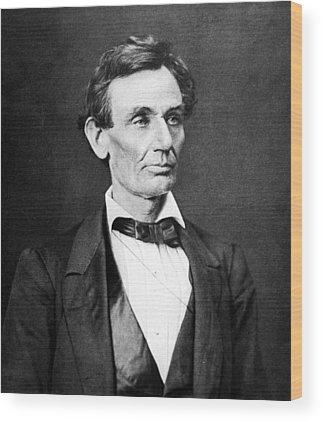 Lincoln Photographs Wood Prints