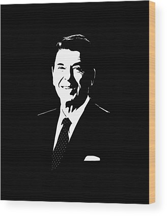 Ronald Reagan Wood Prints