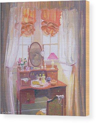 Window Dressing Wood Prints