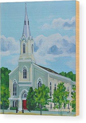 Fredericksburg Baptist Church Wood Prints