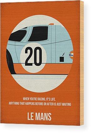 Le Mans Wood Prints