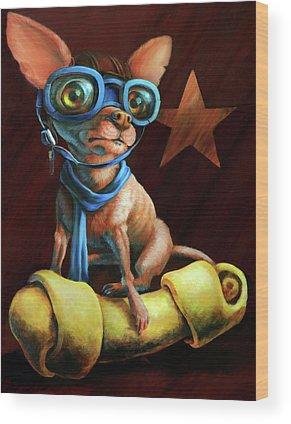 Chihuahua Wood Prints