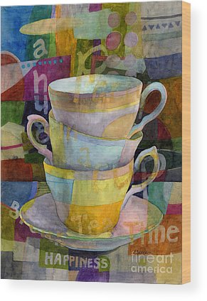Tea Time Wood Prints