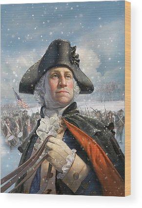 President Wood Prints