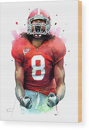 Julio Jones Wood Prints