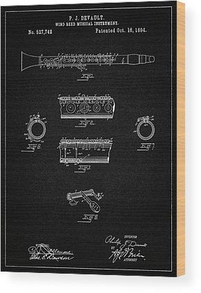Clarinet Wood Prints