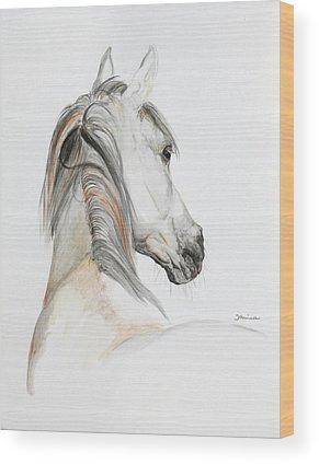 Arabian Horse Wood Prints