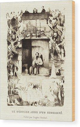 Dernier Wood Prints