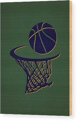Utah Jazz Wood Prints