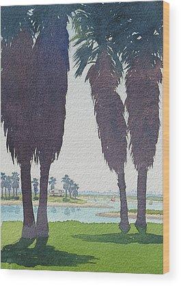 California Mission Wood Prints