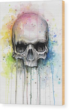 Watercolor Wood Prints