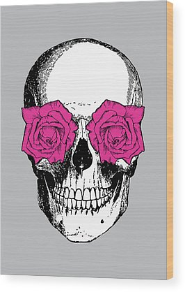 Of Roses And Love Wood Prints