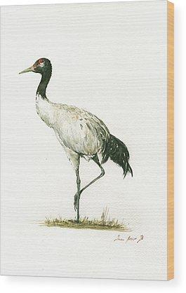 Crane Wood Prints