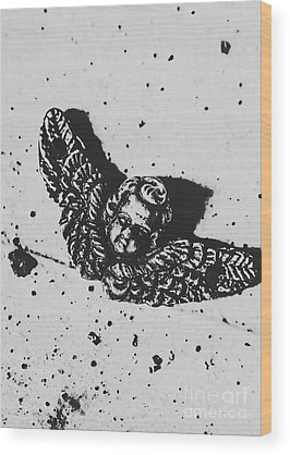 Cherub Wood Prints