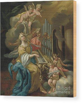 Choral Wood Prints