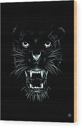 Beast Wood Prints