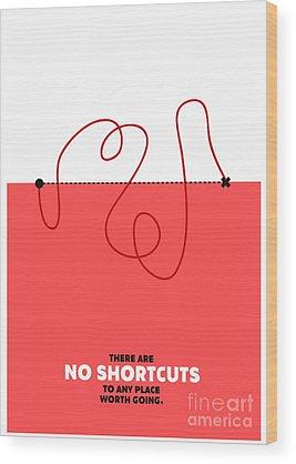 Motivation Wood Prints