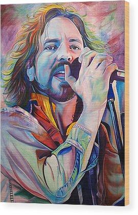 Pearl Jam Wood Prints