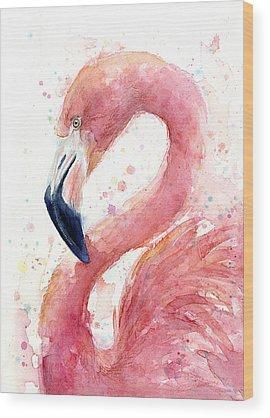 Pink Wood Prints