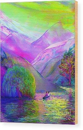 Canoe Wood Prints