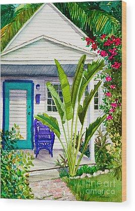Key West Wood Prints
