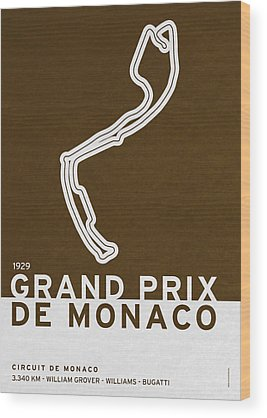 Le Mans 24 Wood Prints