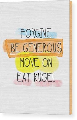 Forgiveness Wood Prints