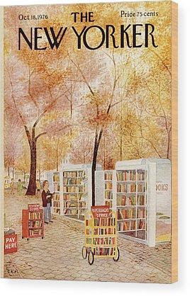 Stalls Wood Prints