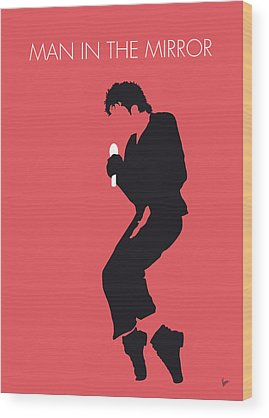 Michael Jackson Wood Prints